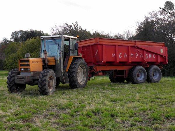 Moisson des maïs 2011