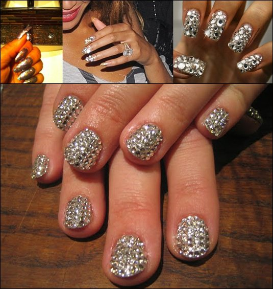 Nails art- Look Glitter
