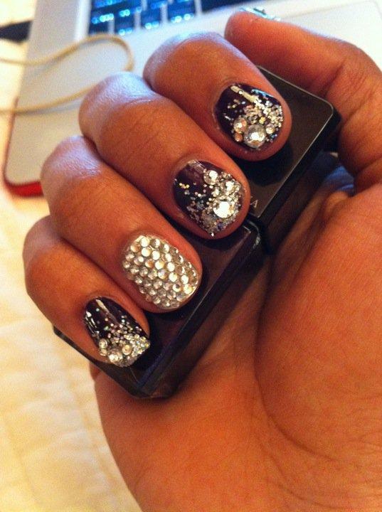 Nails art- Look Glitter
