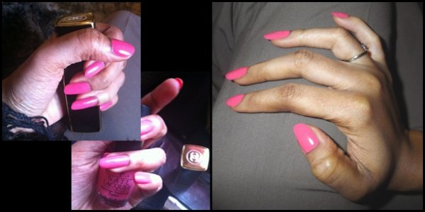 Nails art- Pink Lady