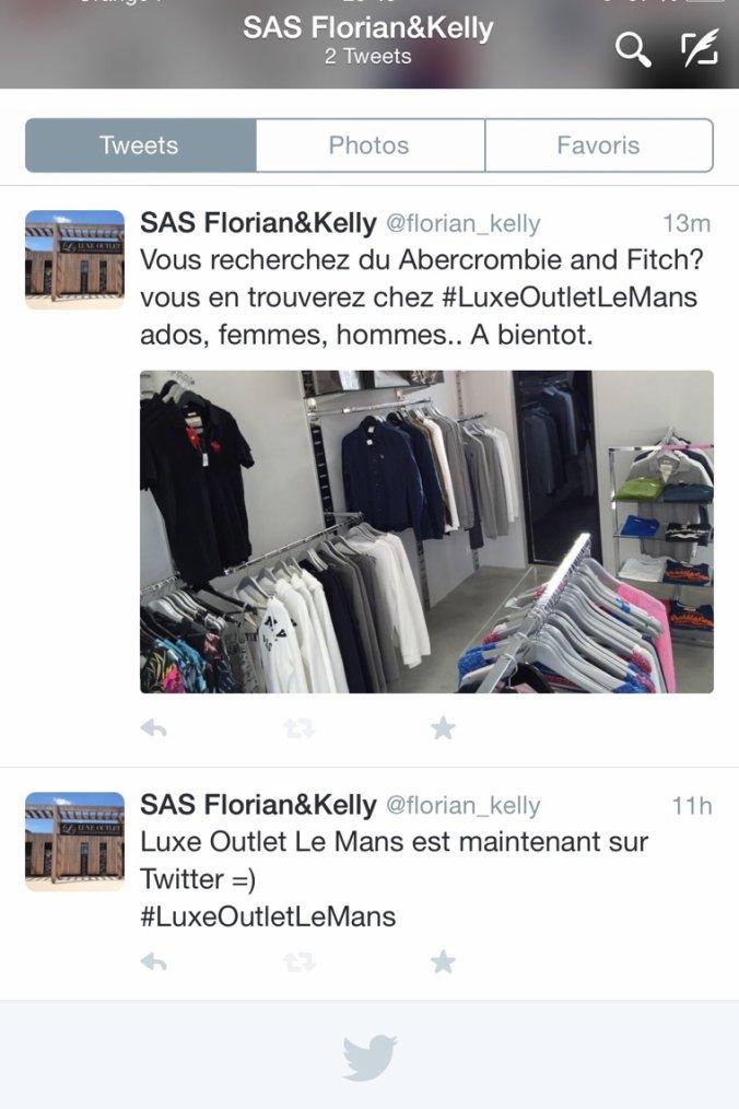 SAS Florian & Kelly sur twitter