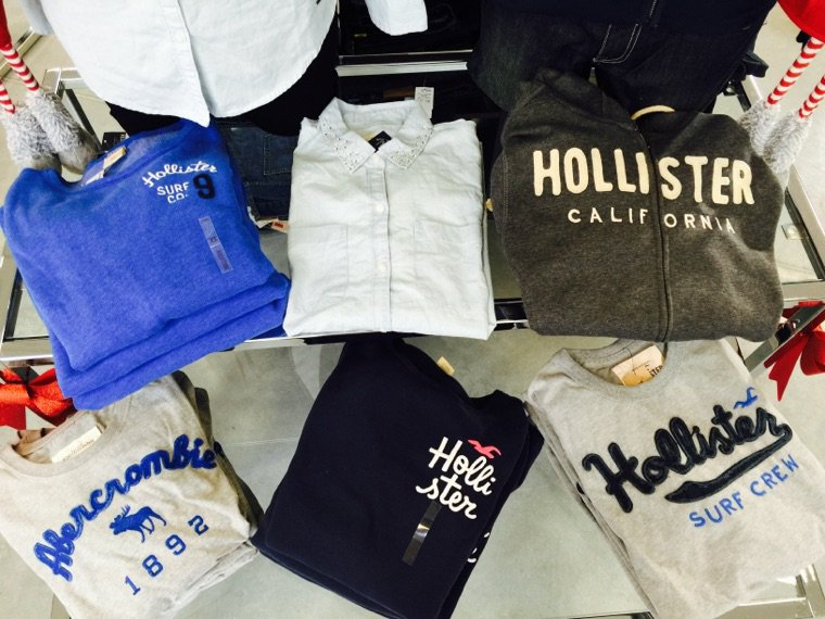 Nouvel arrivage Hollister