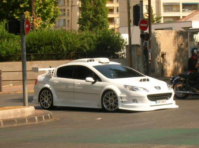 peugeot 407 tuning pour le film taxi 4 special tuning. Black Bedroom Furniture Sets. Home Design Ideas