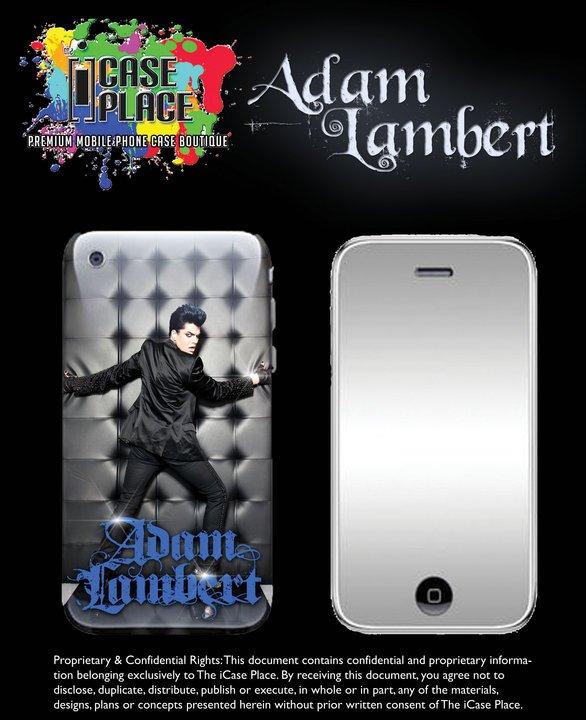 #32 Adam Lambert : The iCase Place