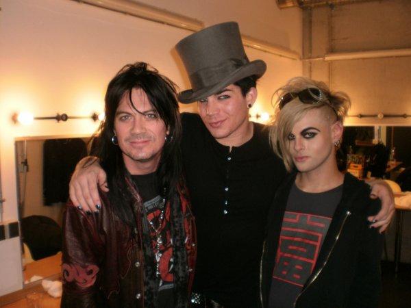 #134 Adam et Tommy en compagnie de Keri Kelli, le guitariste de Alice Cooper