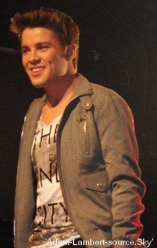 #163 Adam veux rencontrer le chanteur britanique, gagant de X Factor, Joe McElderry