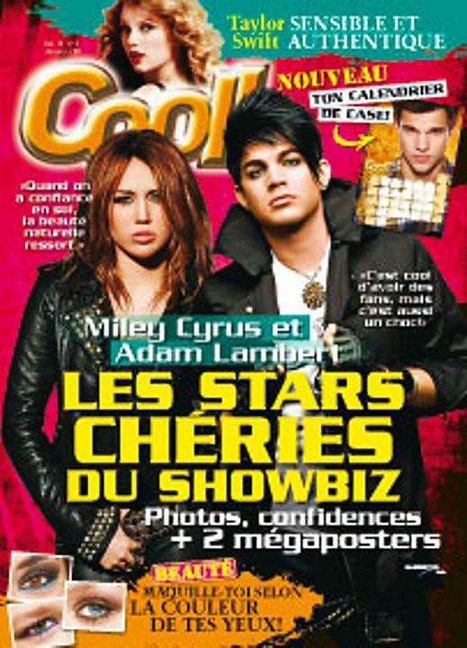 #169 Adam en première page du magazine Cool ! Puis à l'intérieur, il y a une interview + un méga poster !