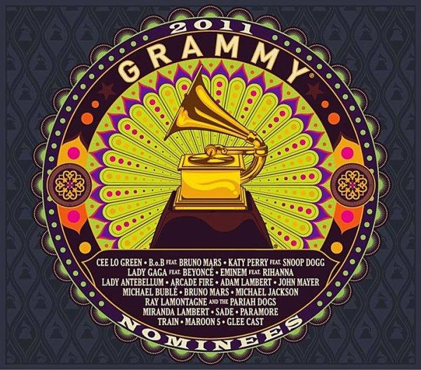 #209 Les Grammy's Award ont sortie la couverture de l'album des nominés. Adam s'y retrouve et Whataya Want From Me sera dans l'album.