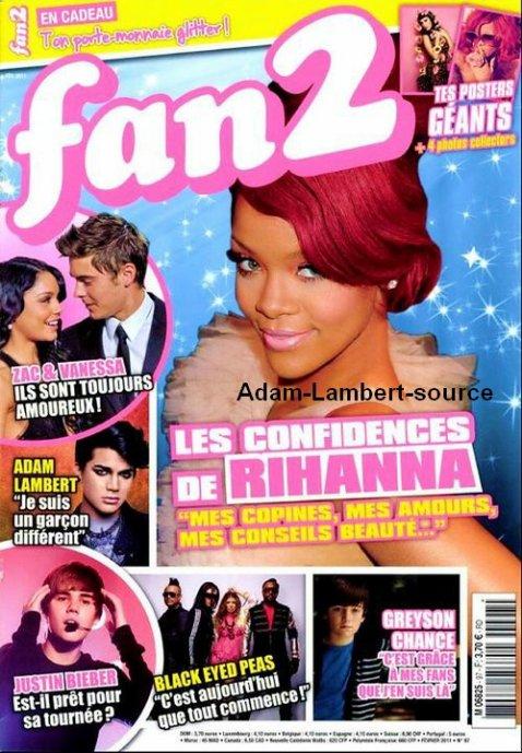 #240 Glam Nation Live, pré-vente sur iTunes + Magasine : Life and Style Week, Fan Club et Fan 2 (FRANCE)