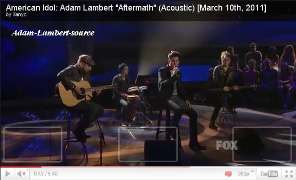 #251 Retour de Adam à American Idol