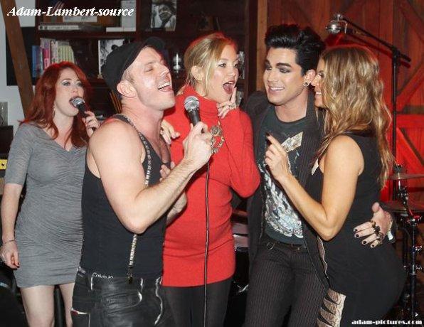 #266 Adam à l'anniversaire de Fergie des Black Eyed Peas à Los Angeles au Chrome Hearts Factory. (27.03.11)