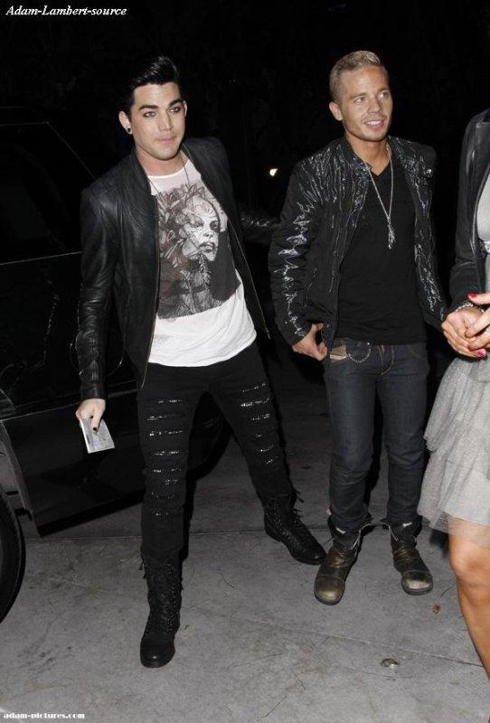 #268 Adam et Sauli Koskinen au concert de Lady Gaga. (28.03.11)
