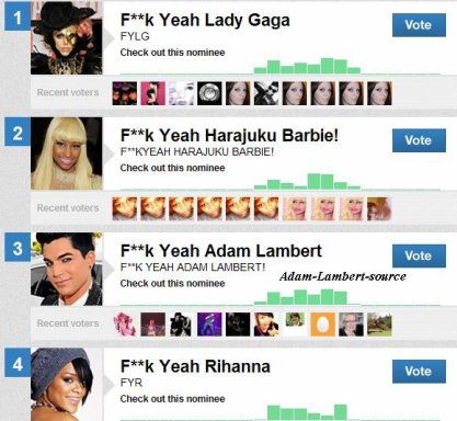 #287 2 nominations pour Adam au MTV 'O Music Awards !