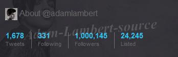 #317 Adam surpasse les 1 milions de followers sur Twitter !