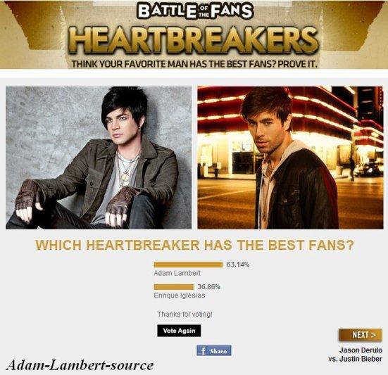 #333 Bataille de Fans ! Adam Lambert vs. Enrique Iglesias - Fuse.tv
