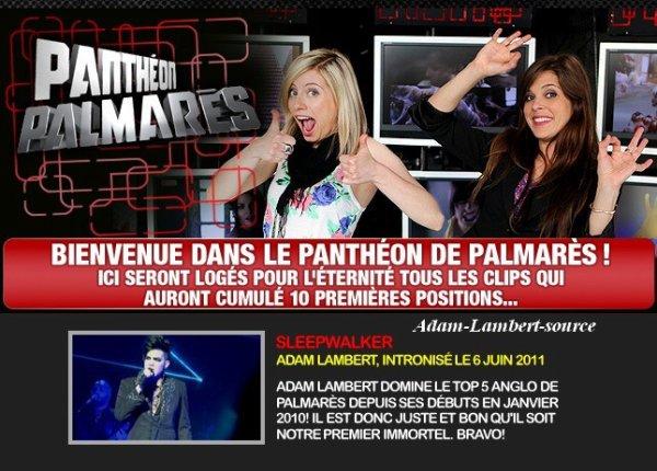 #441 6 juin 2011: Sleepwalker dans le panthéon Palmarès !