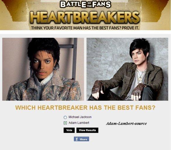 #464 Fuse.tv Bataille de fans - Michael Jackson vs Adam Lambert
