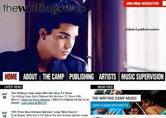 #491 Adam sur la bannière du site web de The Writing Camp.