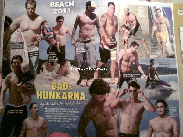#510 Adam dans un magazine suédois