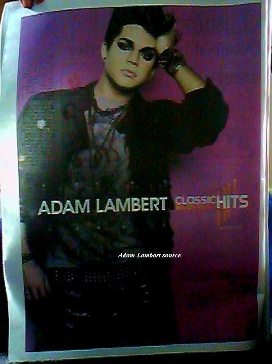 #514 Adam dans le magazine Classic Hits