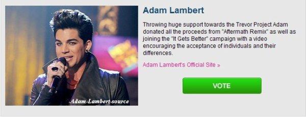 #518 Votez pour Adam au VH1 Do Something Awards 2011