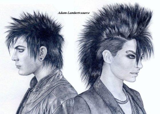 #525 FanArt de Adam et Bill Kaulitz par Teplo