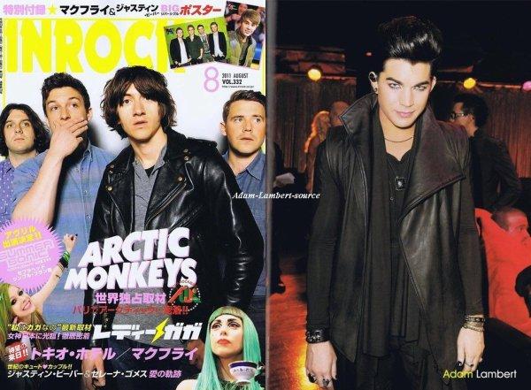 #541 Traduction du magazine INROCK Japan, Vol 332 + Meilleurs qualités des scans