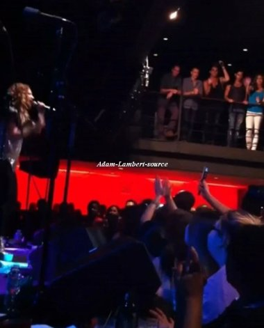 #542 Adam au concert de Nikka Costa. (14.07.11)
