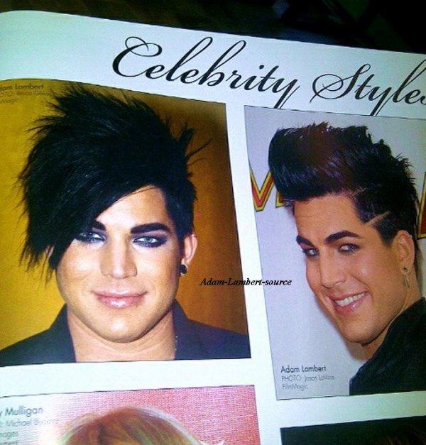 #608 Adam dans un livre de coiffure (INSPIRE)