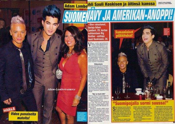 #629 Finlande - Seiska Magazine. (18.08.11)