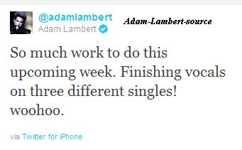 #648 Adam travail sur trois singles!