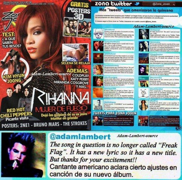 #658 Pérou: Magazine Zona Joven. (08.11)