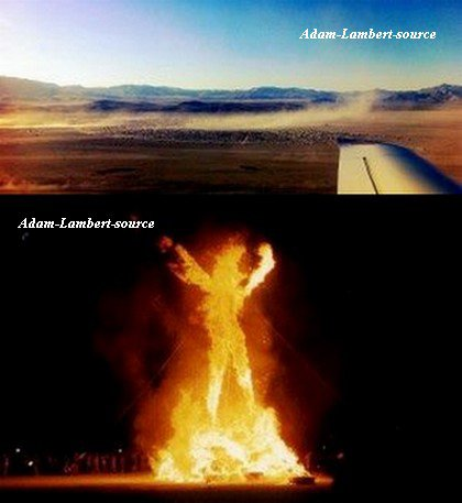 #669 Photos de Adam et Sauli au Burning Man