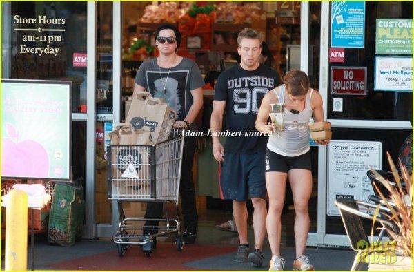 #722 Adam au Whole Foods, à Los Angeles. (07.10.11)