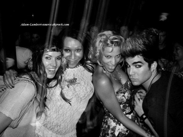 #748 Nouvelle (ancienne) photo de Adam au club Mr Black LA, à Los Angeles. (19.07.11)