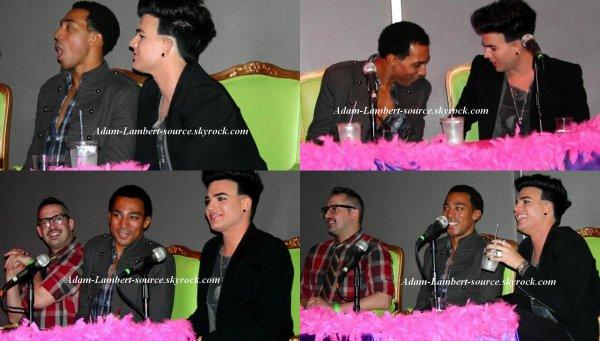#757 Nouvelles images de Adam à So You Think You Can Drag. (19.10.11)