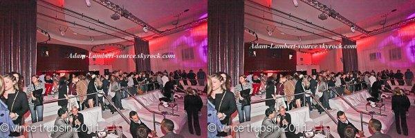 #760 Adam et Sauli au club MSA's pour ''God Save The Queens''. (23.10.11)