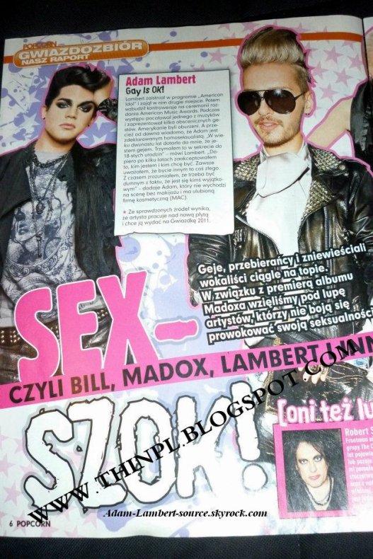 #764 Magazine Popcorn (Pologne) - Novembre 2011.