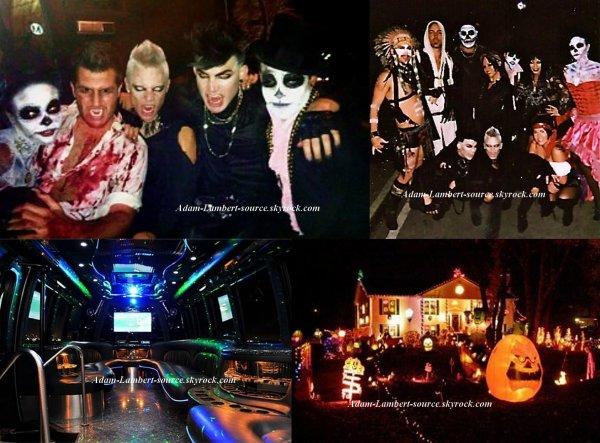 #788 Sauli a posté de nouvelles photos du party d'Halloween sur son blog. (29.10.11)