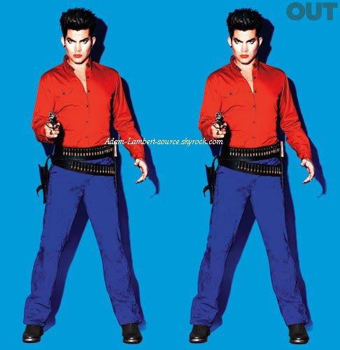 #806 Out Magazine, Adam Lambert, Pop Idol