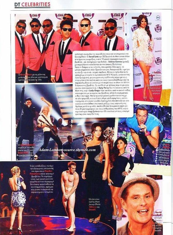 #822 Magazine ''DownTown''. (Grèce)