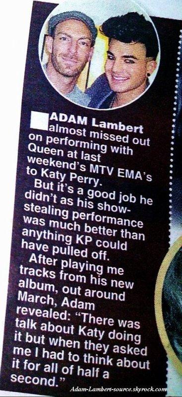 #829 Magazine UK Daily Star.