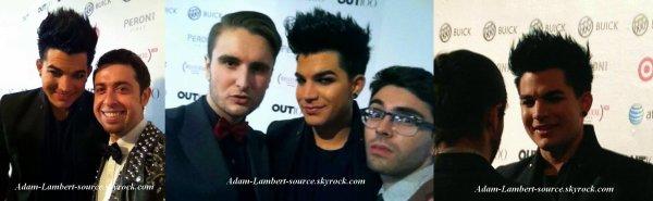 #843 D'autres images de Adam au OUT100, à Skylight Soho. (17.11.11)