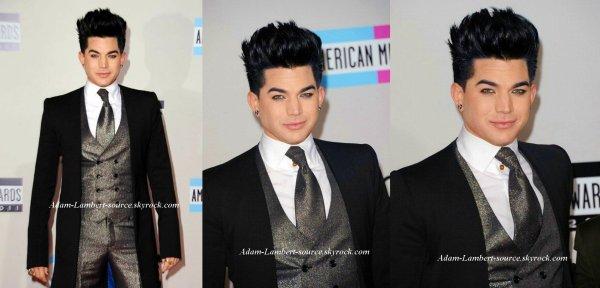 #850 Adam et Sauli sur le tapis rouge des American Music Awards. (20.11.11)