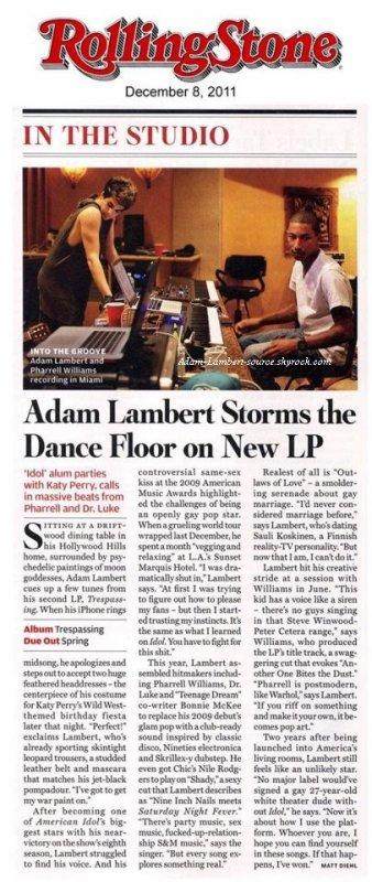 #859 Nouvelle interview dans le Rolling Stone!