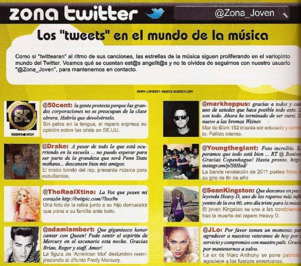 #863 Magazine Zona Joven. (Pérou). (17.11.11)
