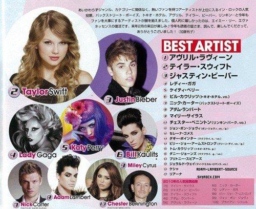 #893 Magazine INROCK. (Japon) (15.12.11)