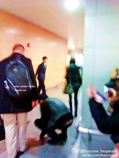 #899 Adam à l'hôtel Park Hyatt, à Shanghai. (18.12.11)