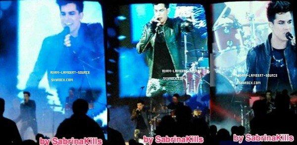 #903 Adam performant à l'évènement Amway, à Shanghai. (18.12.11)