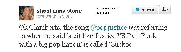 #914 ''Cuckoo'' nouveau titre de chanson révélé!